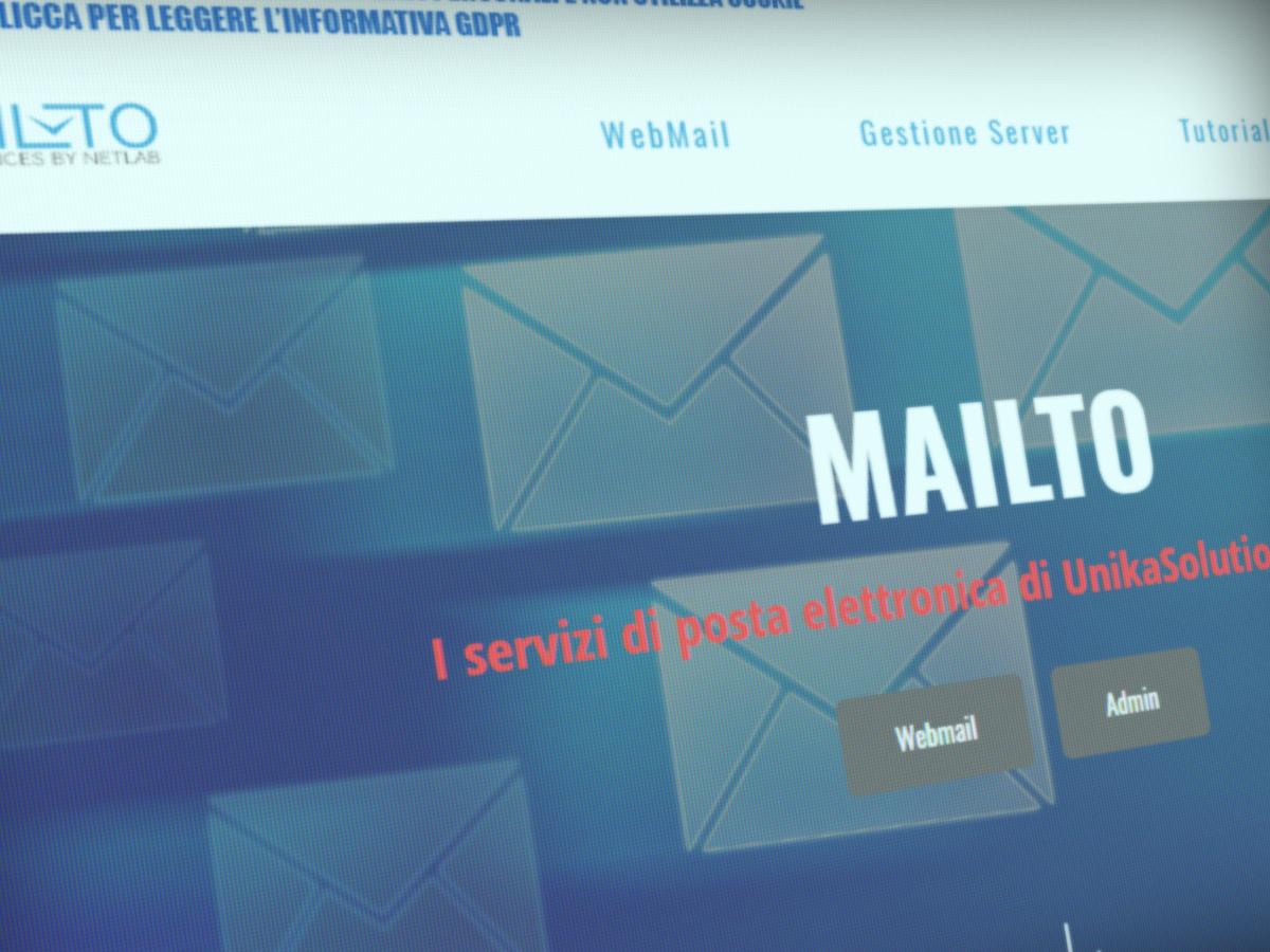Mailto – i servizi di posta elettronica