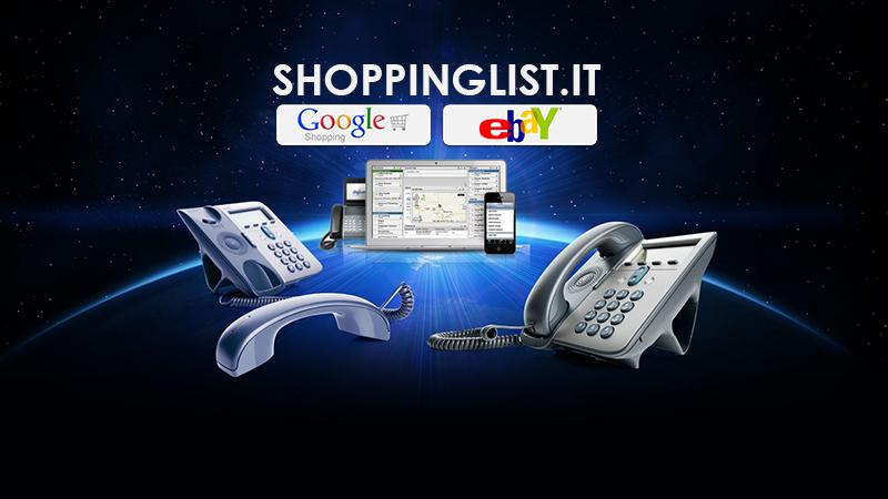 Shoppinglist – lo shop dedicato ai prodotti Voip