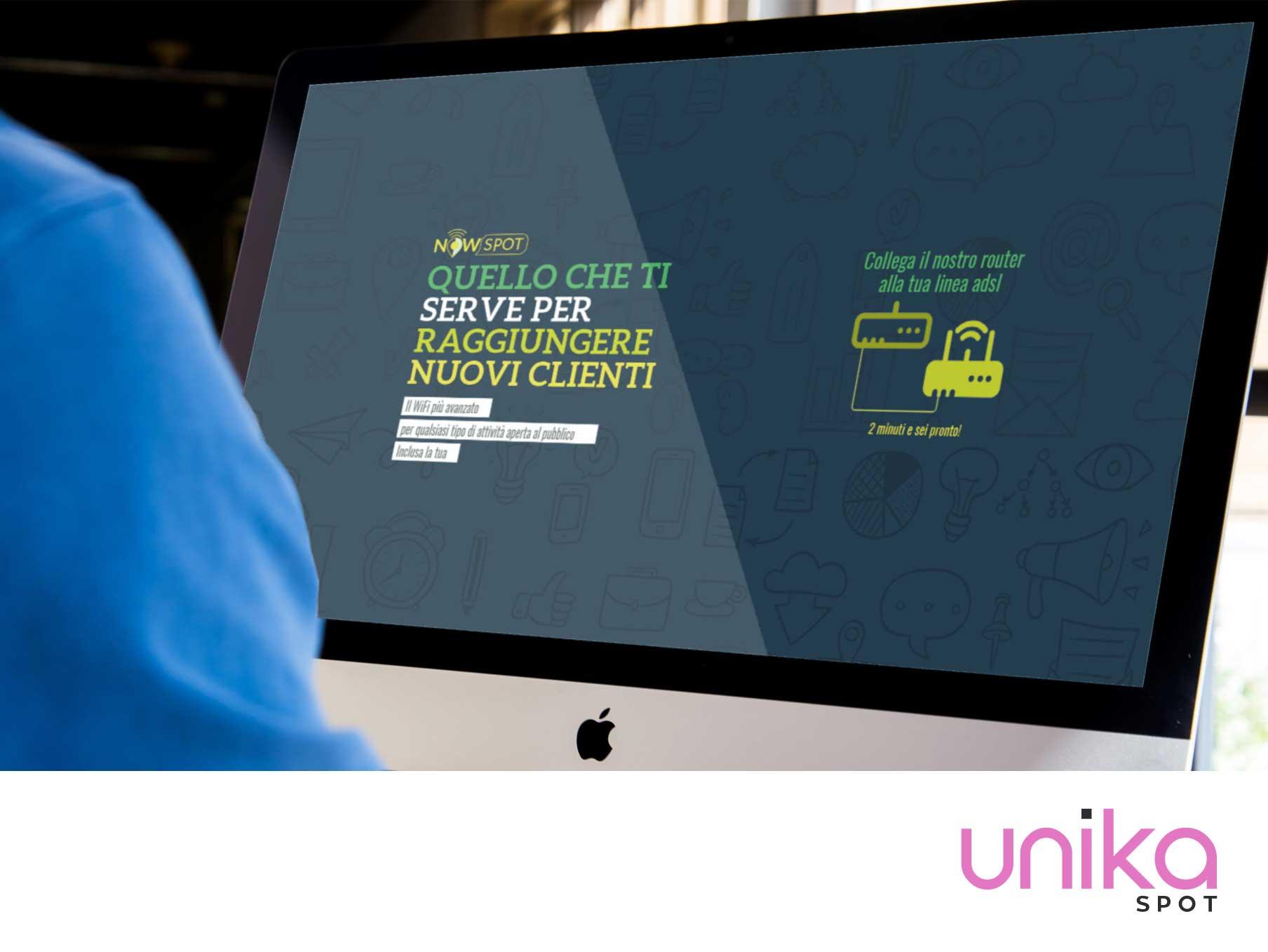 NowSpot il Social WiFi by Unika